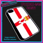 FITS IPHONE 4 / 4S PHONE ULSTER NORTHERN IRELAND FLAG EMBLEM PLASTIC COVER